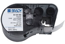 Brady - BMP51 BMP53 Ultra Thin Polyester Laboratory Labels with Vial Top